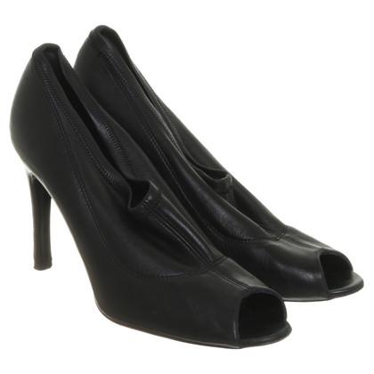 Pedro Garcia Peep-dita dei piedi in nero