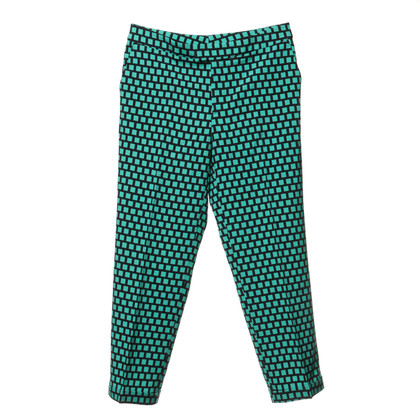 Etro 7/8 pants with patterns