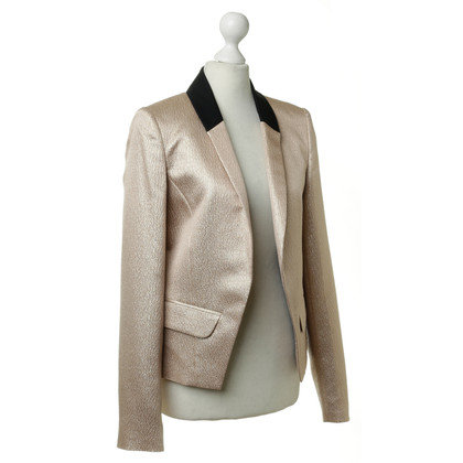 Derek Lam Blazer in gold metallic