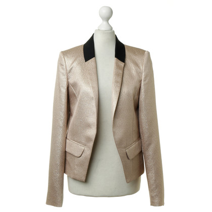 Derek Lam Blazer in goud metallic
