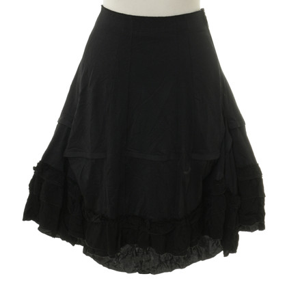 Marithé et Francois Girbaud skirt with Ruffles