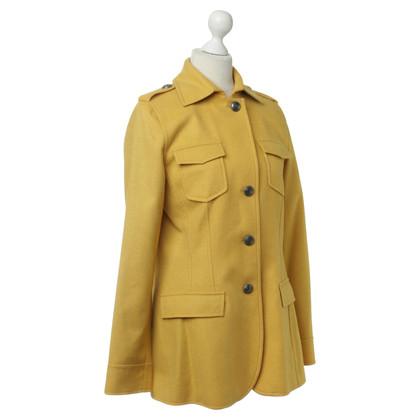 Van Laack Jacket in yellow