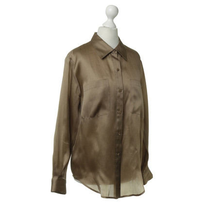 Emanuel Ungaro Silk blouse in Brown