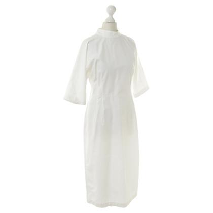 Jil Sander Kleid in Weiß