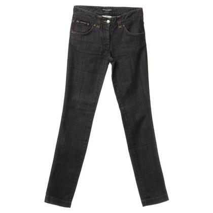 Dolce & Gabbana Jeans con cuciture a contrasto