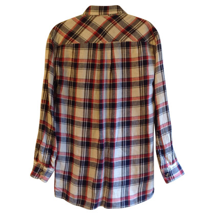 Isabel Marant Etoile Shirt met geruite patroon