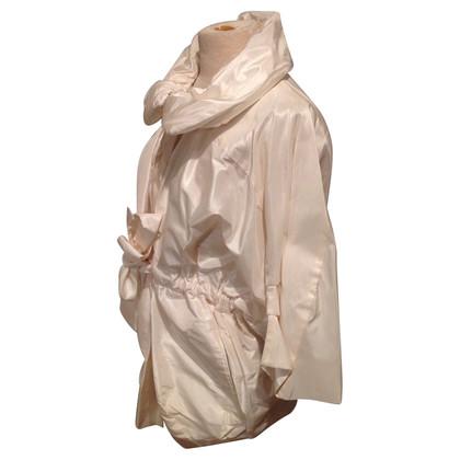 Plein Sud Witte zijde jas