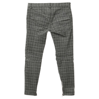 Balmain Pants with Prince of Wales check patterns