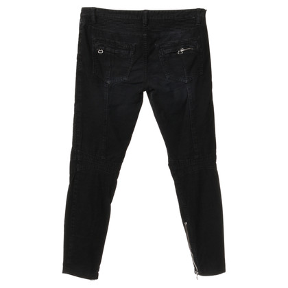 Balmain Corduroy trousers in black