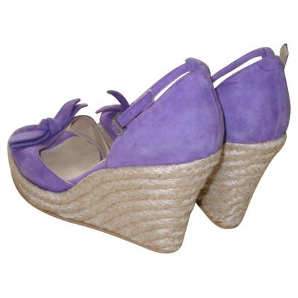 Unützer Sandals with wedge heel