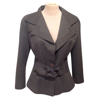 Donna Karan Gray Blazer with belt