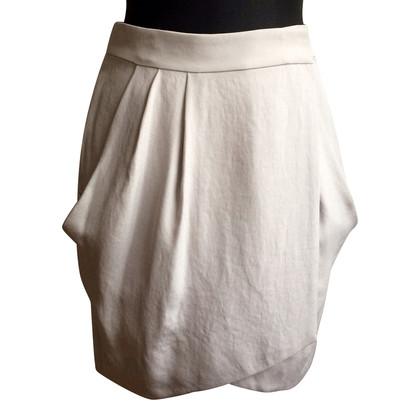 Diane von Furstenberg skirt in grey