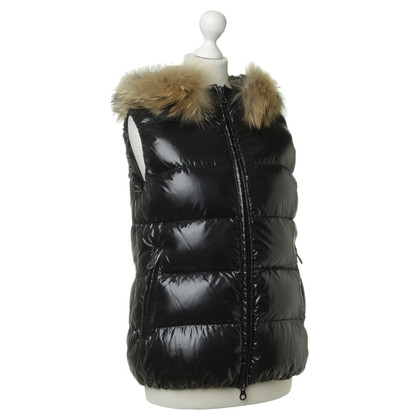 Duvetica Vest with real fur