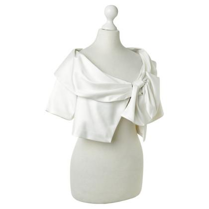 BCBG Max Azria Bolero in white