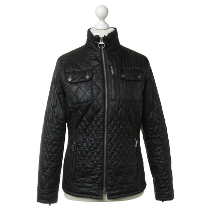 Barbour Steppjacke in Schwarz