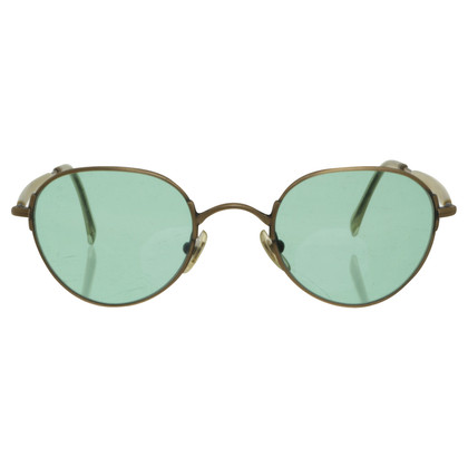 Calvin Klein Sonnenbrille in Gold-Metallic