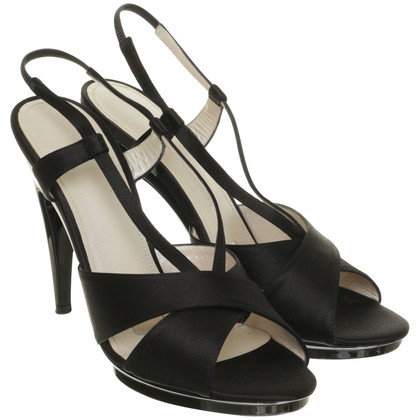 Jil Sander High heel sandal in black
