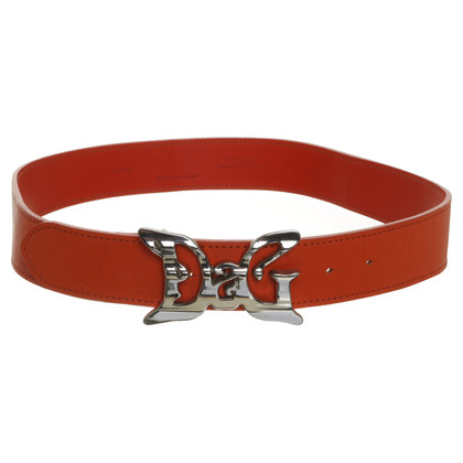Dolce & Gabbana Orange belt
