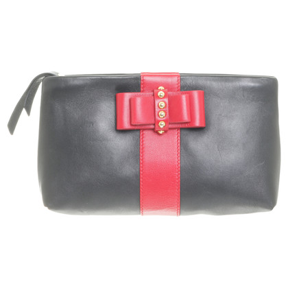 Christian Louboutin clutch with bow