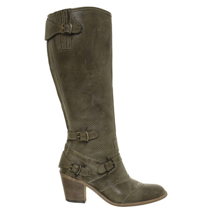 "Belstaff Boots ""Trialmaster"" in green"