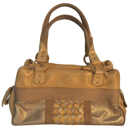 Bottega Veneta Handtas in goud metallic