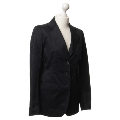 Prada Long jackets in dark blue