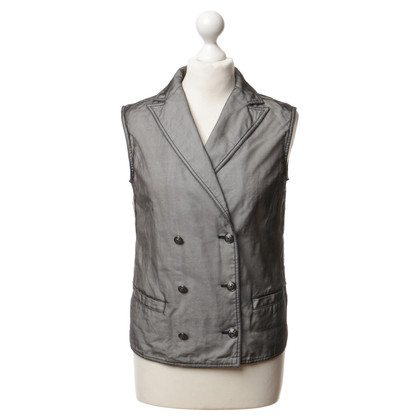 Chanel Vest met transparante Outer stof