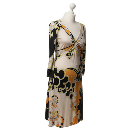 Emilio Pucci Silk dress with pattern