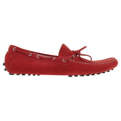 Santoni Slipper in red