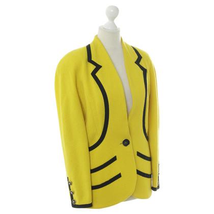 Chanel Blazer in yellow