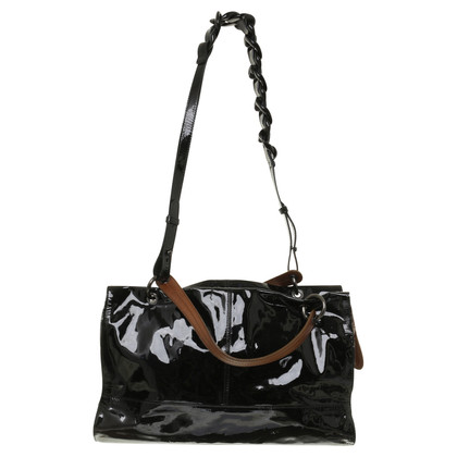Furla Handbag in Black/Brown