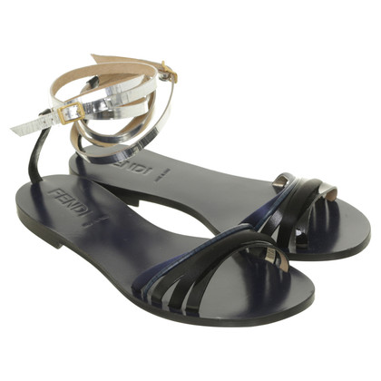 Fendi Sandal with ankle straps