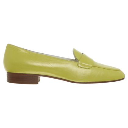 Andere merken Bruno Magli - slipper in geel-groen