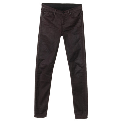 "7 For All Mankind ""The Skinny"" in Aubergine color pants"