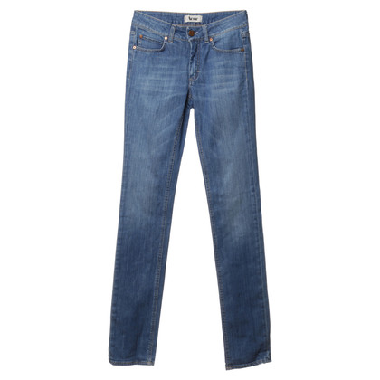 "Acne Jeans ' hex Lena ""in blauw"