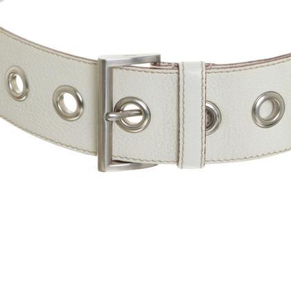 Prada Belt white