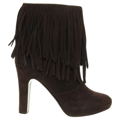 L'autre Chose Ankle boots with fringe