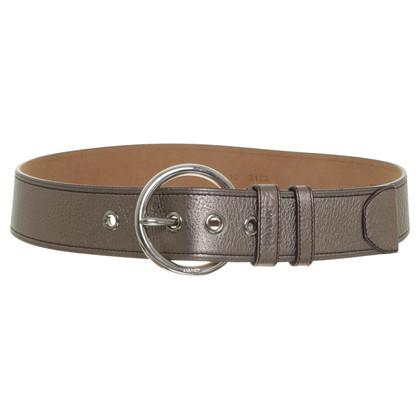Prada Belt in metallic tone