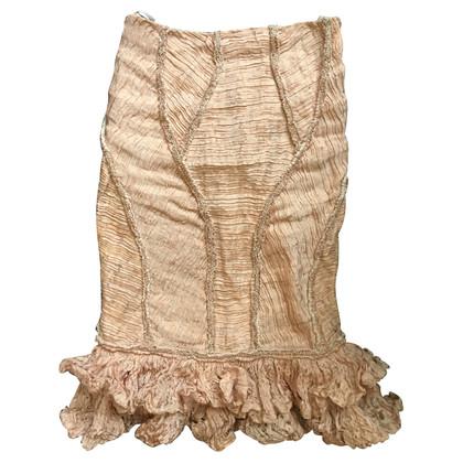 Alexander McQueen Pink Skirt