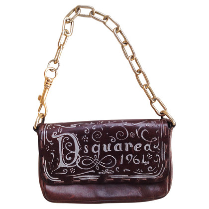 Dsquared2 Pochette in de greep van de keten