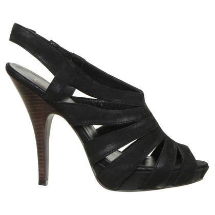 Ash High heel sandal in black