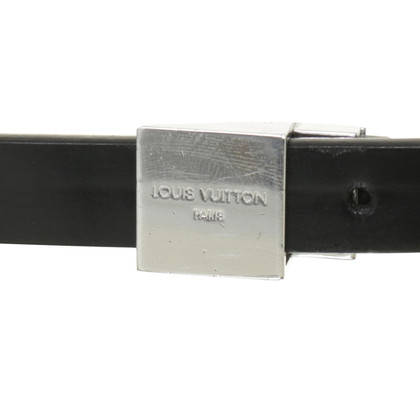 Louis Vuitton Leather belt in black