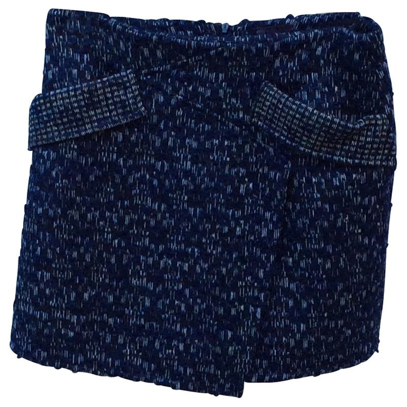 Fendi Wool mini skirt
