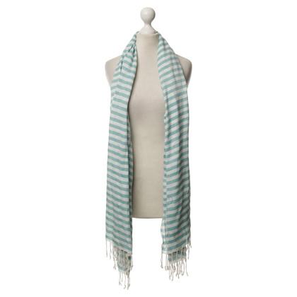 Armani Sjaal met strepen