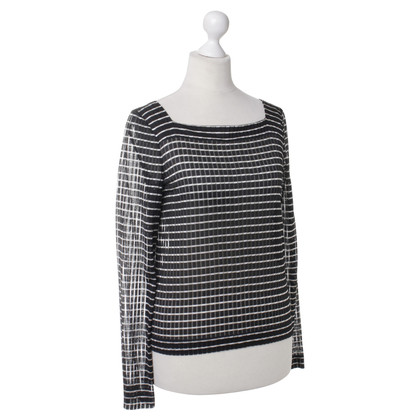 Giorgio Armani top with stripes