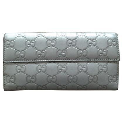 Gucci Portemonnaie in Silber