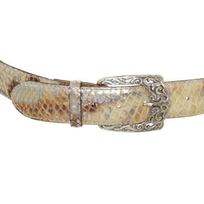 Reptile's House Gürtel aus Reptilien-Leder
