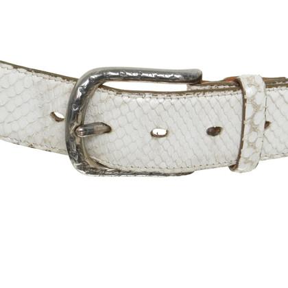Reptile's House Cintura in pelle di rettile