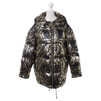 Stine Goya Down jacket with metallic pattern