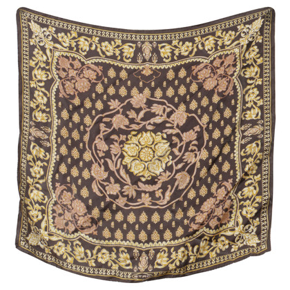 Etro Silk scarf with ornamental print